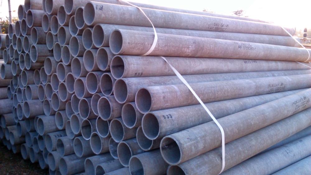 Трубы гофрированные дренажные и канализационные, трубы асбестоцементные